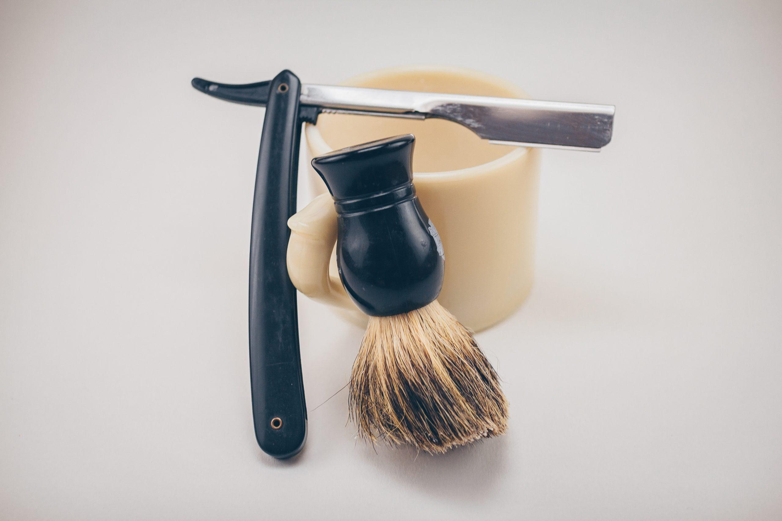Rasage au savon naturel et soin de la peau